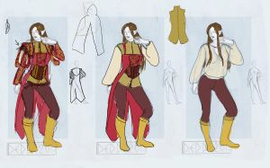 Definitive Clothes study by LadyDeddelit