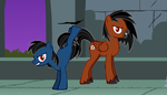 TAFA in MLP - FIM - The Deadly Duo by LGee14