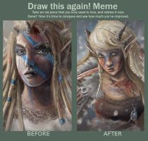 Draw this again: war-elf by MCVD