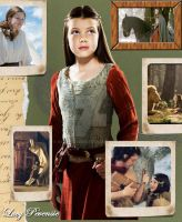 Scrap-Book: Lucy Pevensie by Archer-AMS