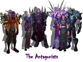 The Antagonists by The-Serene-Mage