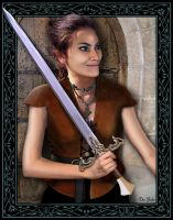 Book character: Malayna by VapourNZ