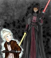 GIMP - Exile and Revan? by MaskedSugarGirl