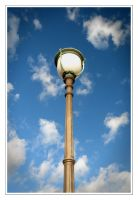 A Lamp and several Clouds by Rempstaar