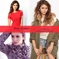 Nina Dobrev stocks by yoLittleJade
