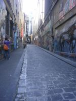 melbourne alley 1 by LuchareStock