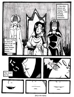 Youkai Complex Page One