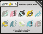 ModBelle IntrnetExplorer Icons by kittenbella