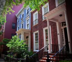 Beautiful Townhouses in NYC by BeBeWalt