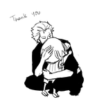 thank you by Zoro-san