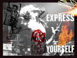 Punk and express yourself by OniricScarecrow