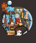 Metal Gear Morty by Philtomato