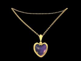 Misc Objects - heart necklace by Sheona-Stock