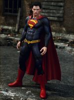 Superman (Iray) by Le-Arc-7thHeaven