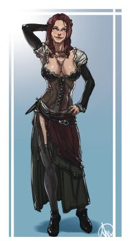 Assassins Creed Anne Bonny by elcarlo42