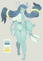 ADOPTABLE AUCTION - Sea Creature by CoffeeChicken