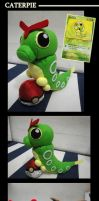 Caterpie Plush by lunayan