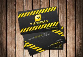 Menegolo Business Card by Menegolo