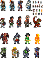 Killer Instinct Sprites by BLZofOZZ