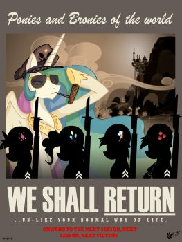 We Shall Return by wolfjedisamuel