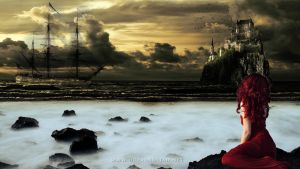 The Mermaid on the Pirates coast by dReadSolJah