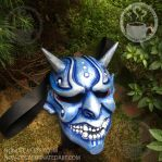 Custom Ice Oni by nondecaf