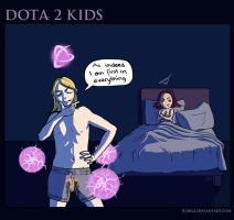 Dota2 Kids: First by JujiBla