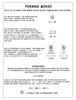 Introduction Korean Alphabet 4 by ILoveKorea