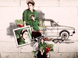 [Colorful EXO] Chinesse by Jungyedolly