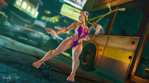 Cammy Swimsuit Showcase by BrutalAce