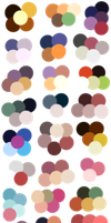 Random Color Palettes 5 by Sebbins