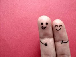 .happy fingers by cornacchia-xD