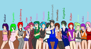 SMILING TOGETHER: UTAU project by Cookie-Catt