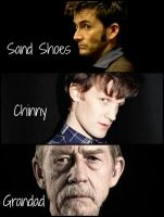 Sand Shoes, Chinny and Grandad by Ketzlin