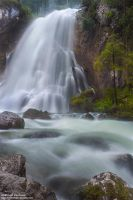 Golling waterfall by Photomichael
