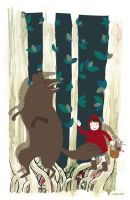 Little Red Riding Hood by laFada