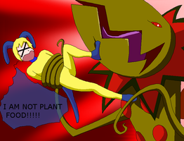 DxDoggymon is plant food XD by HeroHeart001