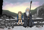 After the Battle - The Hobbit Ghibli Style by Juggernaut-Art