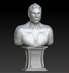 Zak Bagans Immortalized in Zbrush by CapnHannahSolo