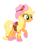 Fashion Style Applejack by BananaSplitzel
