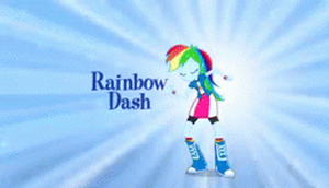 EG Rainbow Dash and Pinkie Pie .gif by mumble76