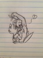 Oh! Lookee there, a mistletoe... - 12/23/12 by Jestloo