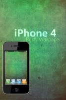iphone 4 Rusty Wallpaper by Martz90
