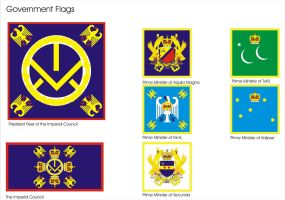 Aquilaan Government Flags 1 by Ienkoron