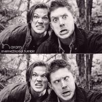 Sam and Dean by g1a2d3oo
