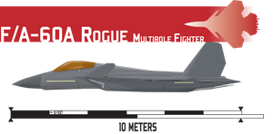 F/A-60A Rogue Multirole Fighter by Afterskies