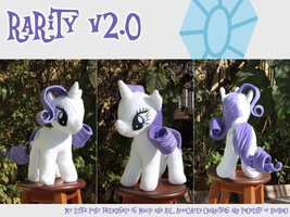 Rarity V. 2.0 by Jackiekie