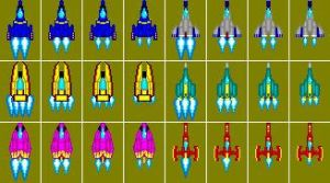 F-Zero Sprites Sheet A by MattThePenguin