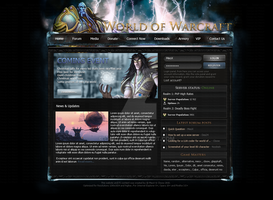 WoW Webdesign by E-moX