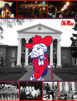 Ole Miss Rebels by Garveate